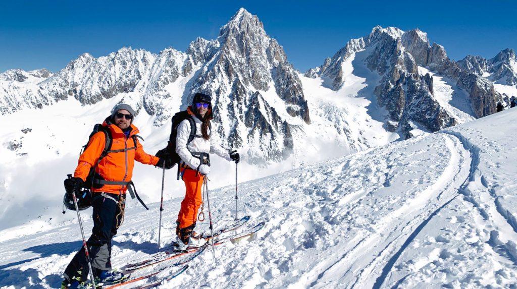 chamonix off piste skiing holiday