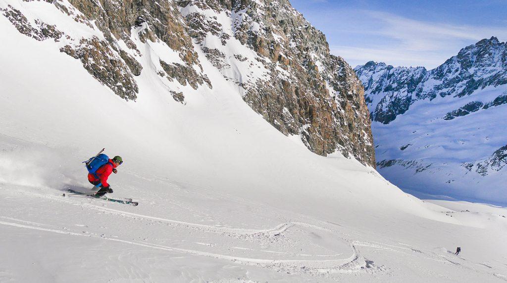haute route ski touring holiday
