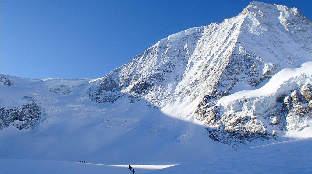 haute rout ski tour