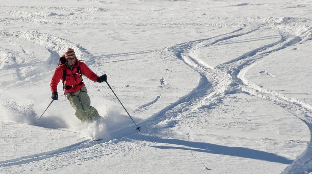 la grave off piste ski guide