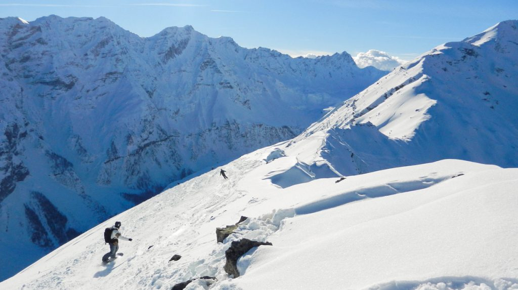 la grave backcountry ski guide service