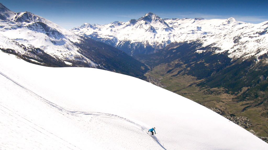 haute maurienne off piste skiing holiday