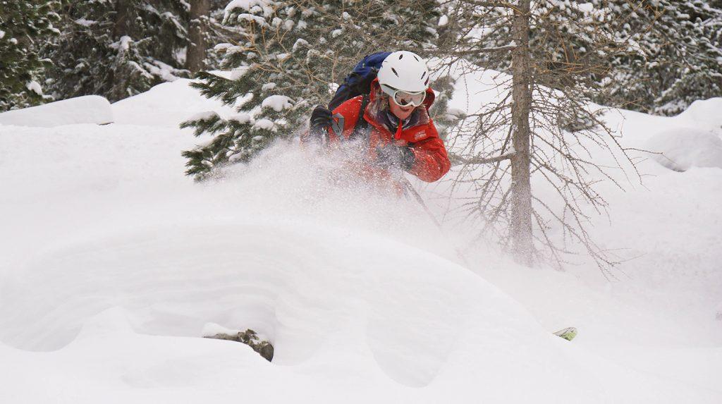haute maurienne off piste skiing