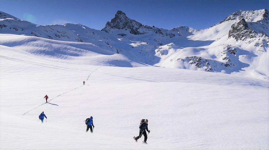 queyras ski touring holiday
