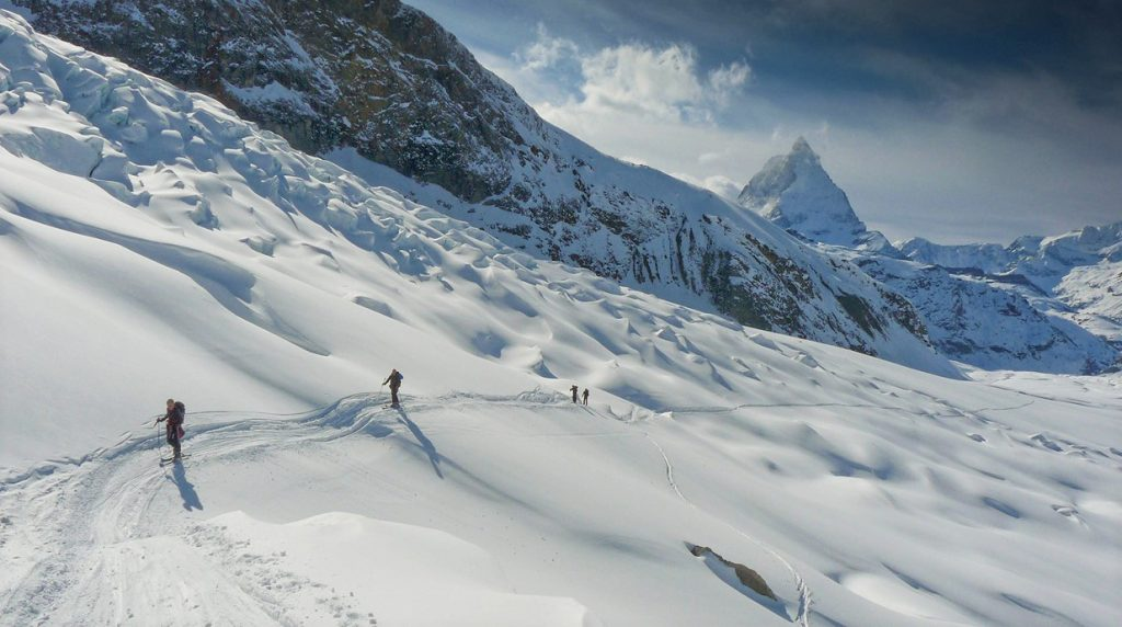 ski touring training course
