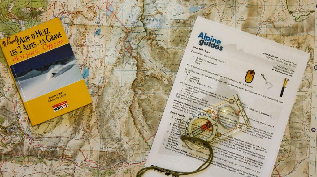 ski touring planning