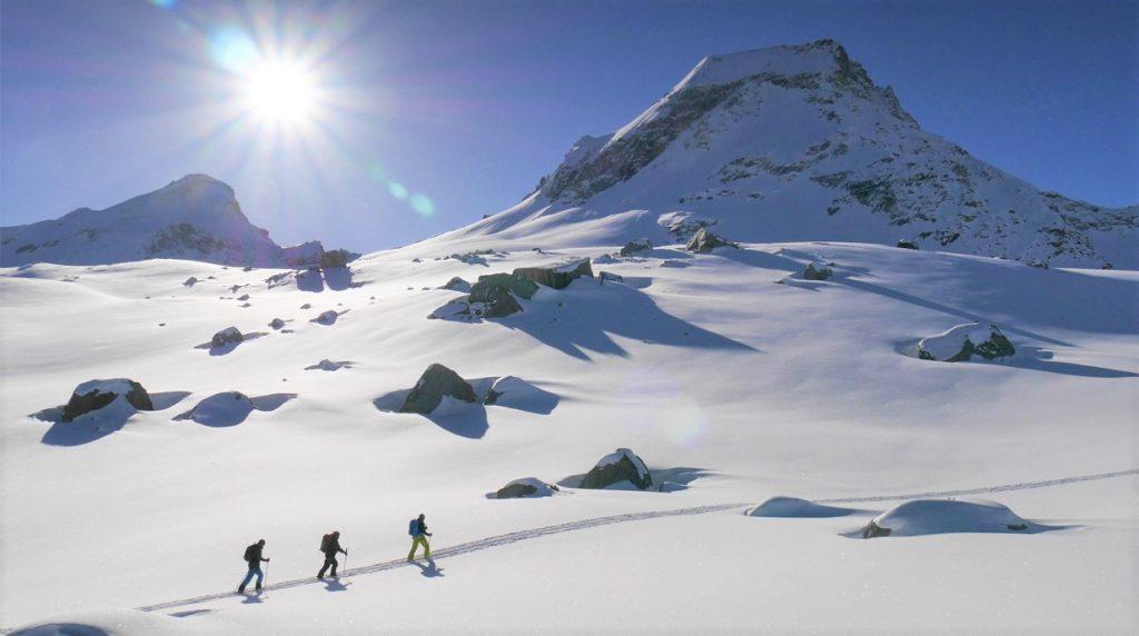 chamonix ski touring course