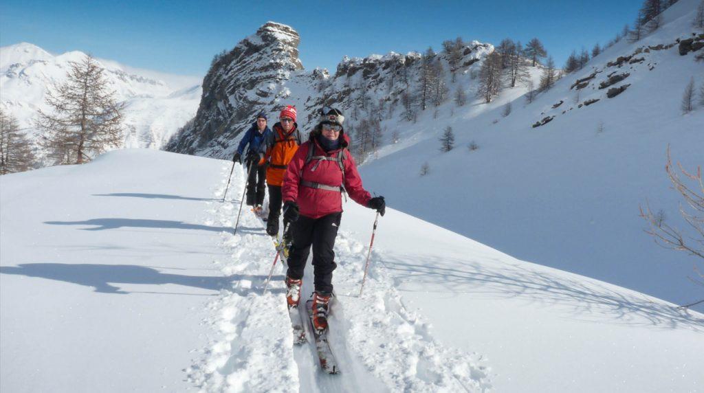 ski touring haute ubaye, france