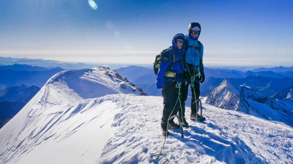 Swiss 4000m peaks climbing holiday