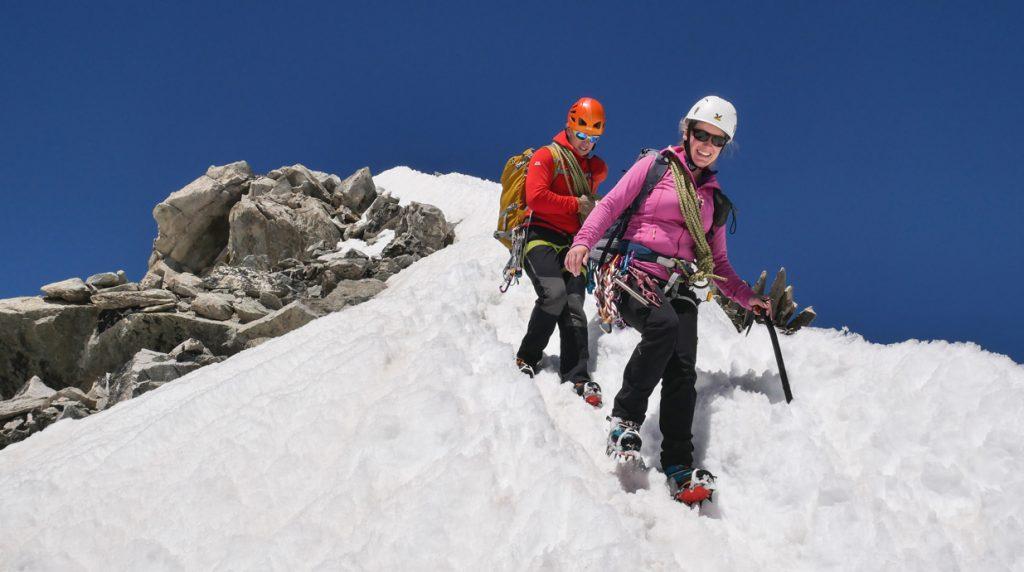 chamonix - switzerland alpine climbing course
