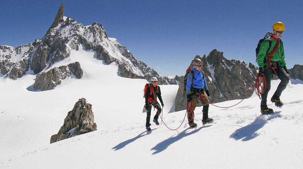 chamonix alpine mountaineering course