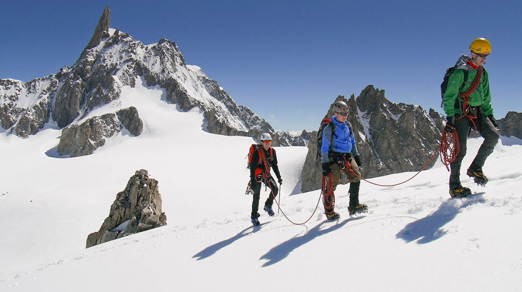 chamonix alpine mountaineering course