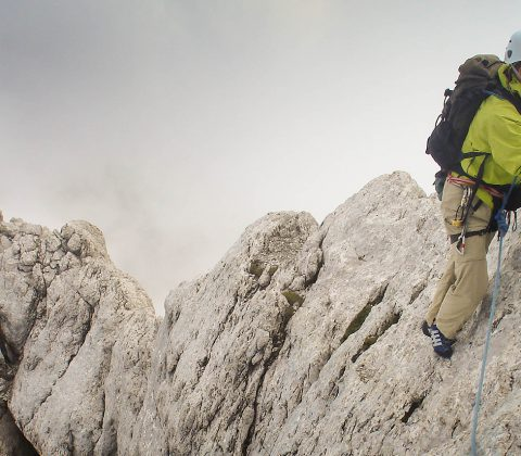 Hire an Alpine Rock Guide