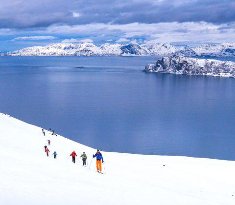 Arnoya Island Ski Touring