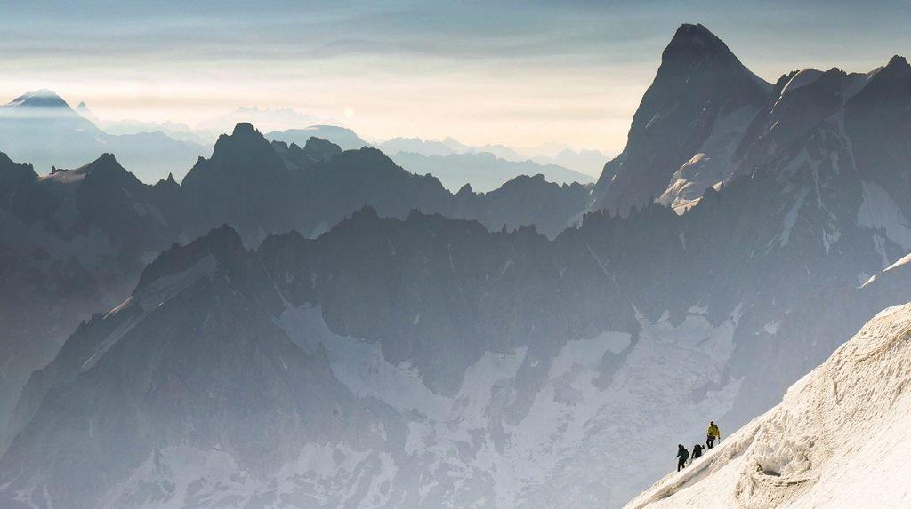 chamonix alpine climbing holiday