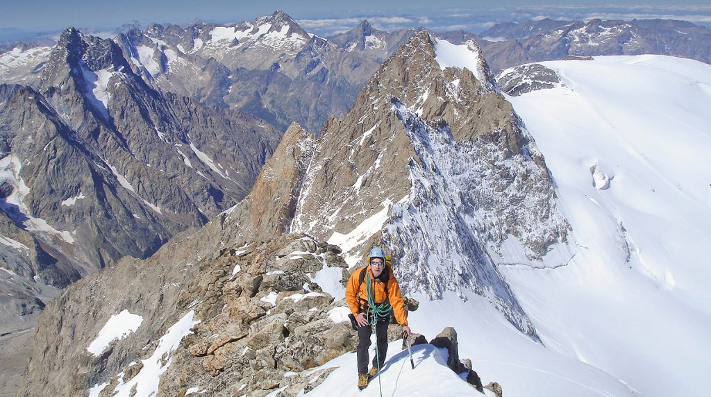 Ecrins alpine mountaineering holiday