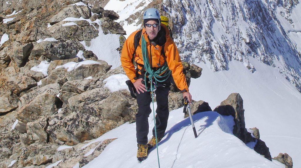 Ecrins alpine climbing holiday