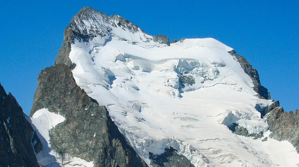 Barre des Ecrins - great objective for an Ecrins alpine mountaineering holiday