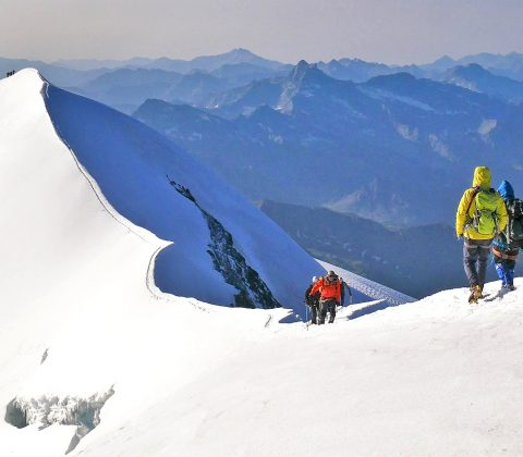 Italian 4000m Peaks Traverse