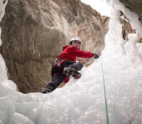 La Grave Ice Climbing