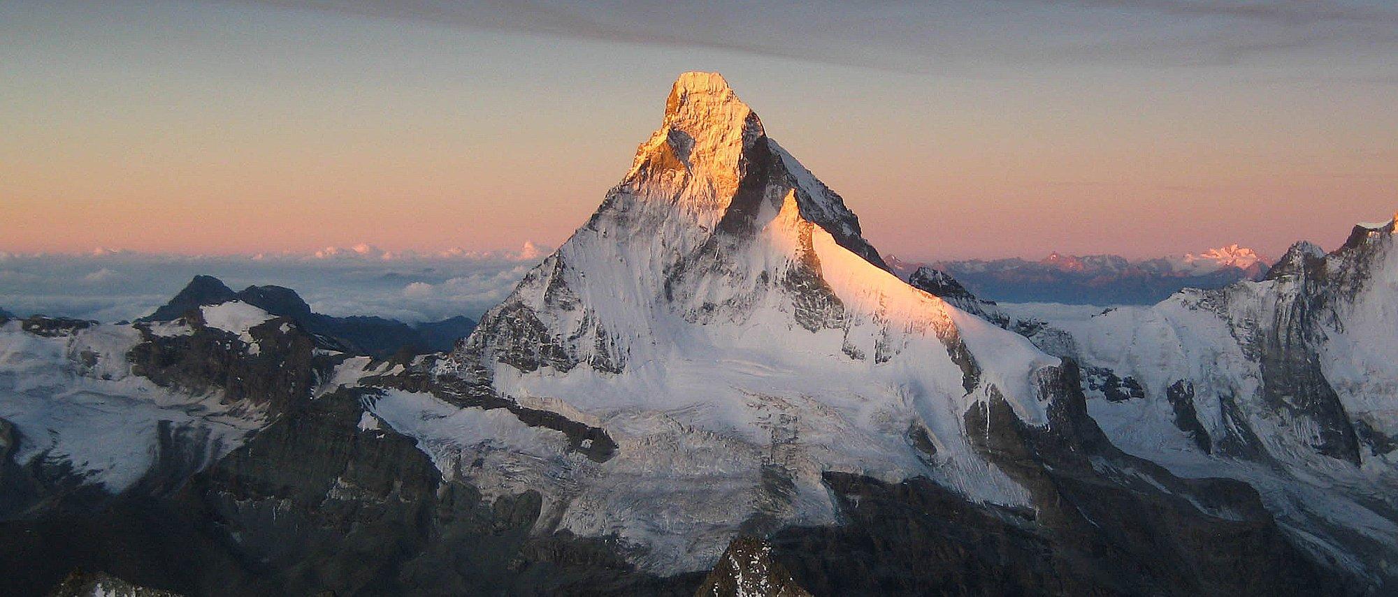 Climb the Matterhorn with Alpine Guides - Matterhorn ...