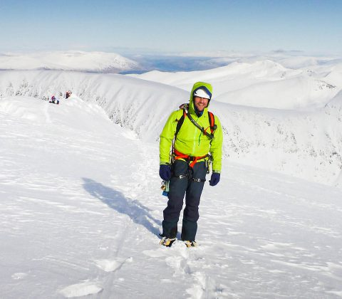 Hire a Scottish Winter Guide