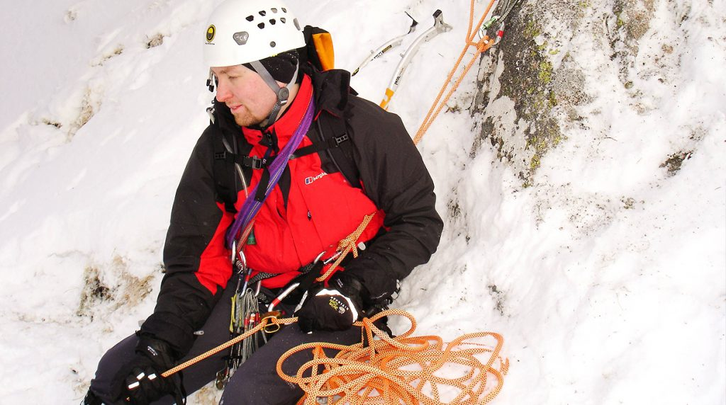 learn new skills from a scottish winter mountaineering guide