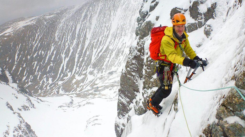 scottish winter climbing course