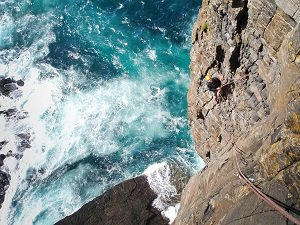 Uk sea cliff climbing guide