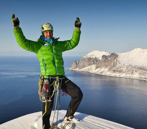 Senja Island Winter Climbing