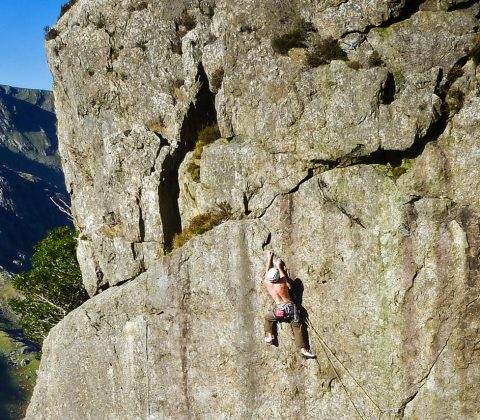 Hire a North Wales Rock Climbing Guide