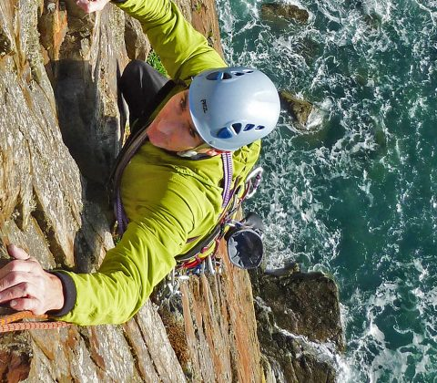Hire a UK Rock Climbing Guide