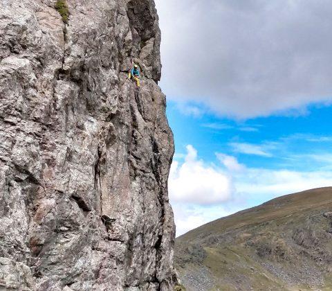 Hire a UK Rock Climbing Guide