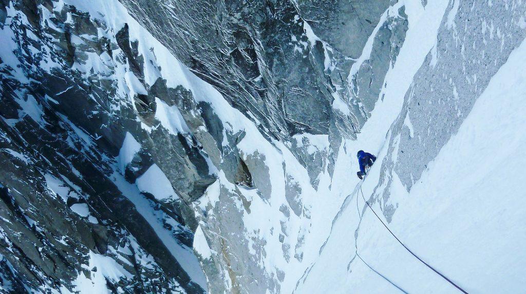 chamonix winter alpine climbing with ifmga mountain guides