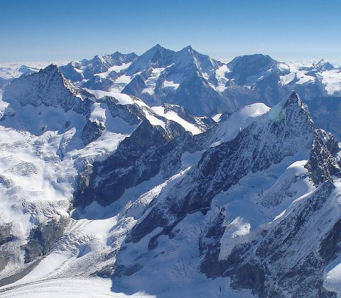 Zermatt 4000m Peaks