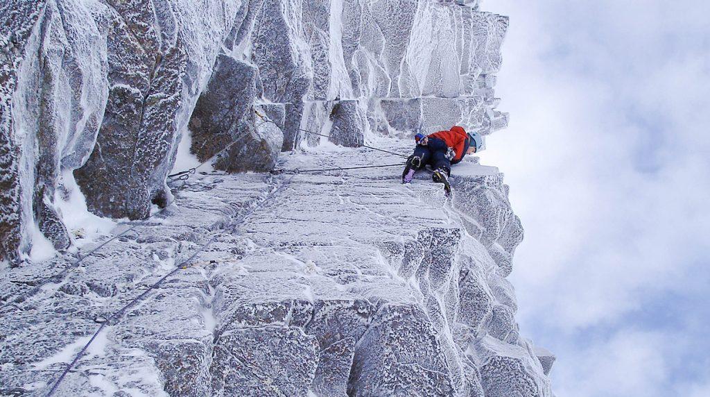 scottish mixed climbing course