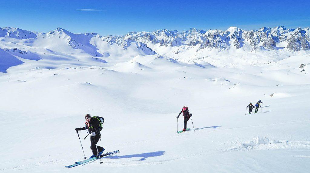 mont thabor ski touring holiday