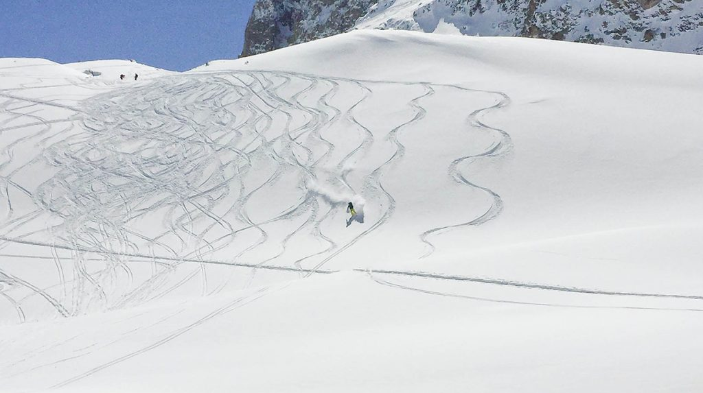 ski touring, mont thabor