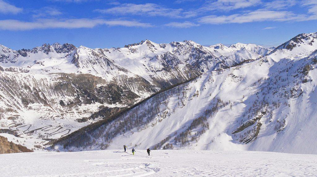 val stura ski touring holiday