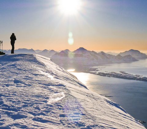 Senja island ski touring holiday with alpine guides the for Spa uniform norge