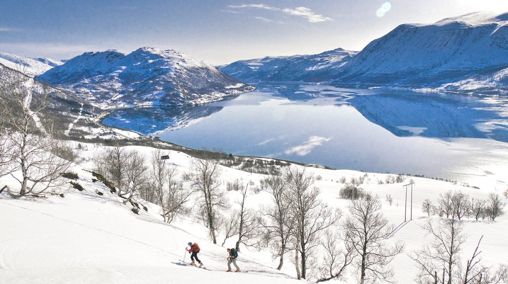 finnmark ski touring holiday, arctic norway