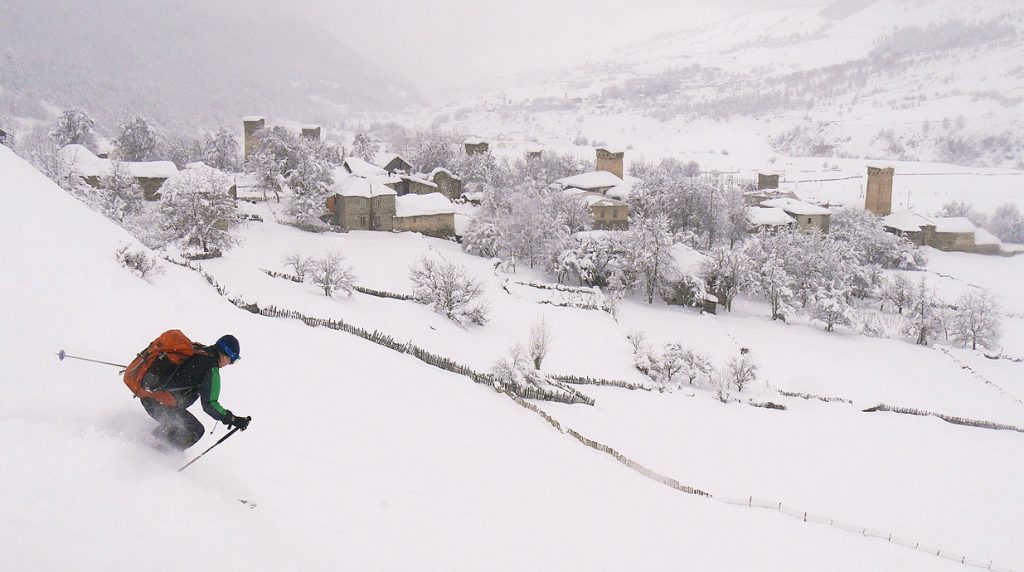 georgia svaneti ski touring holiday