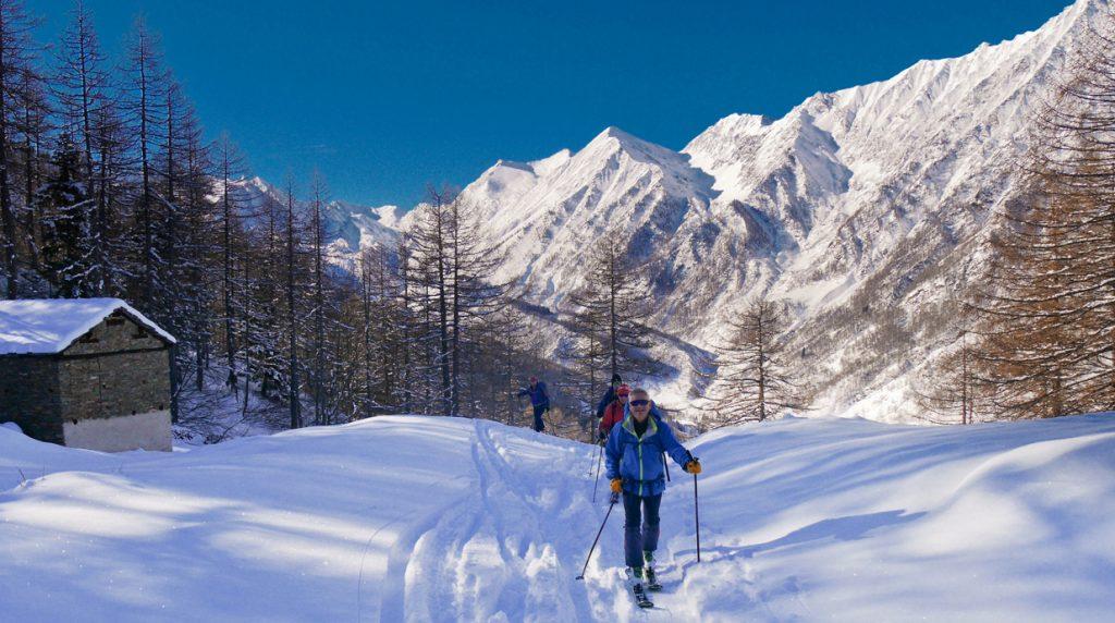 val germanasca ski touring holiday