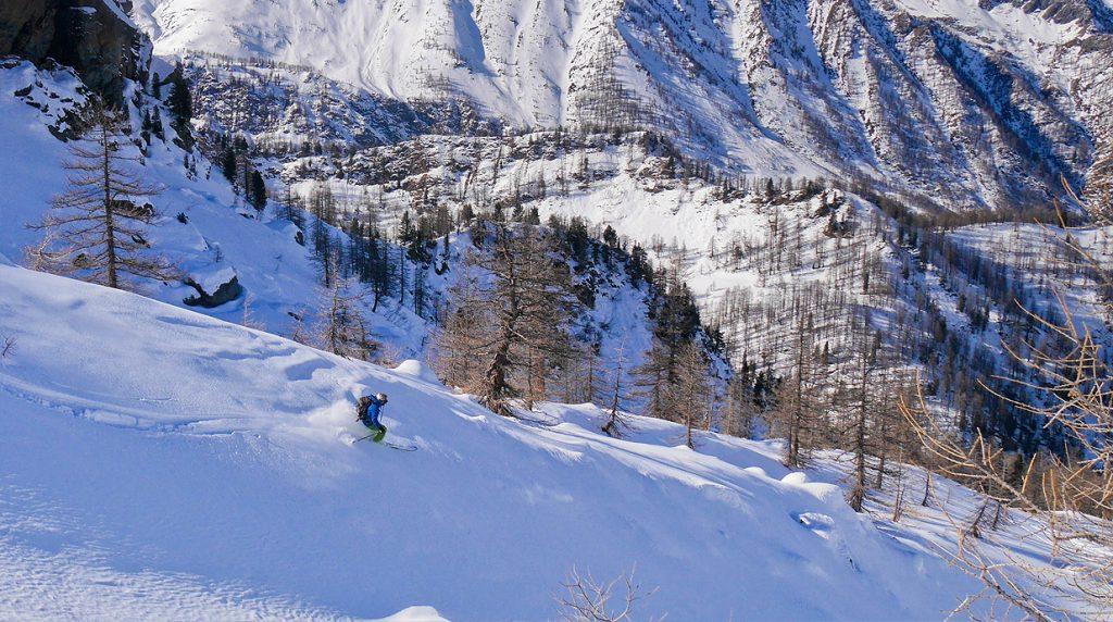 ski touring val germanasca