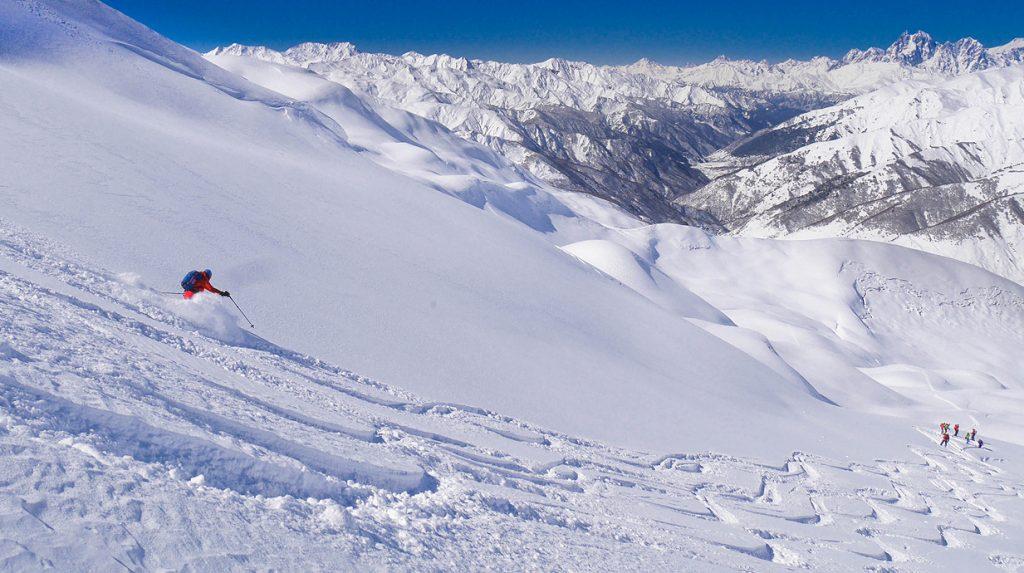georgia ushguli ski touring holiday