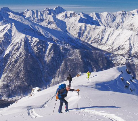 Val Germanasca Ski Touring