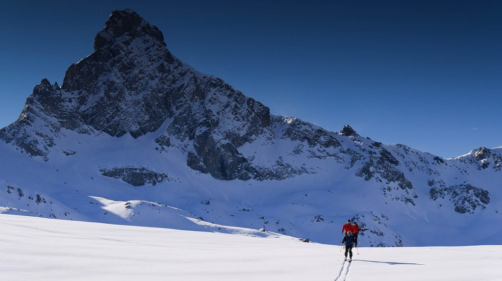 first ski touring holiday