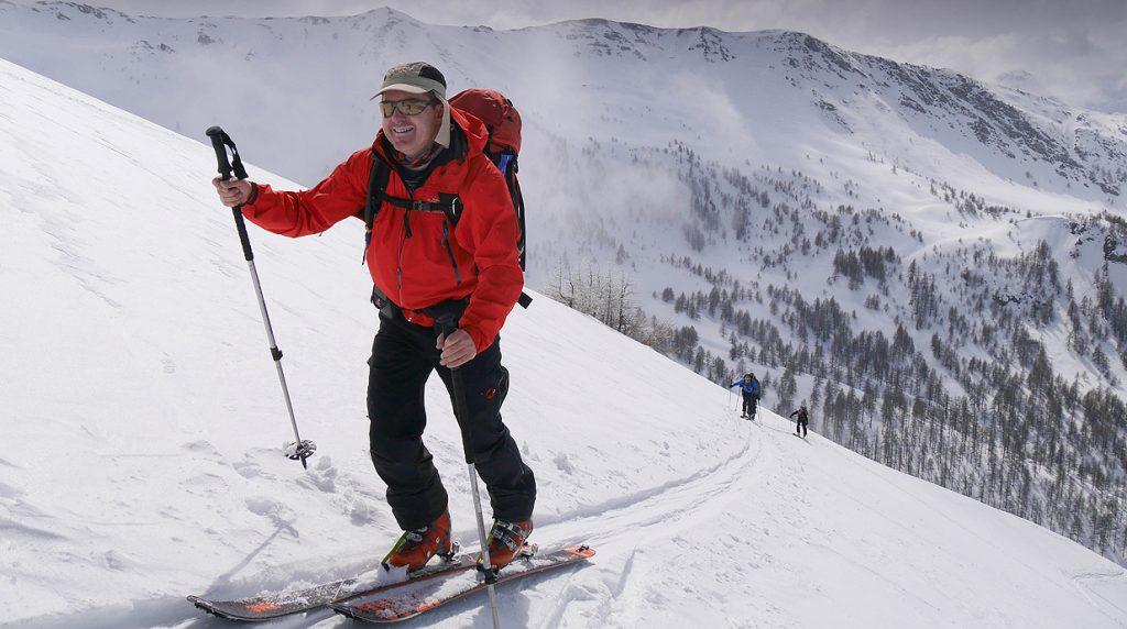 haute durance intro ski touring holiday