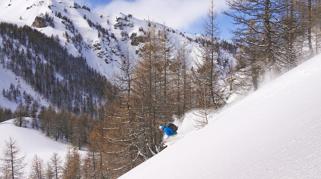 intro ski touring holiday