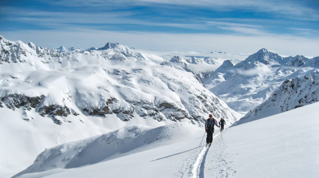 bivio ski touring holiday